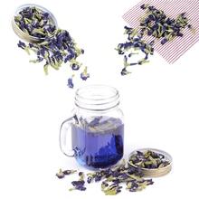 100g/pack Clitoria Ternatea Tea.Blue Butterfly Pea tea.Dried kordofan pea flower.T