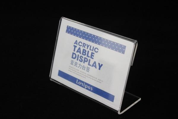 110X85 2mm de espessura de Acrílico clipe
