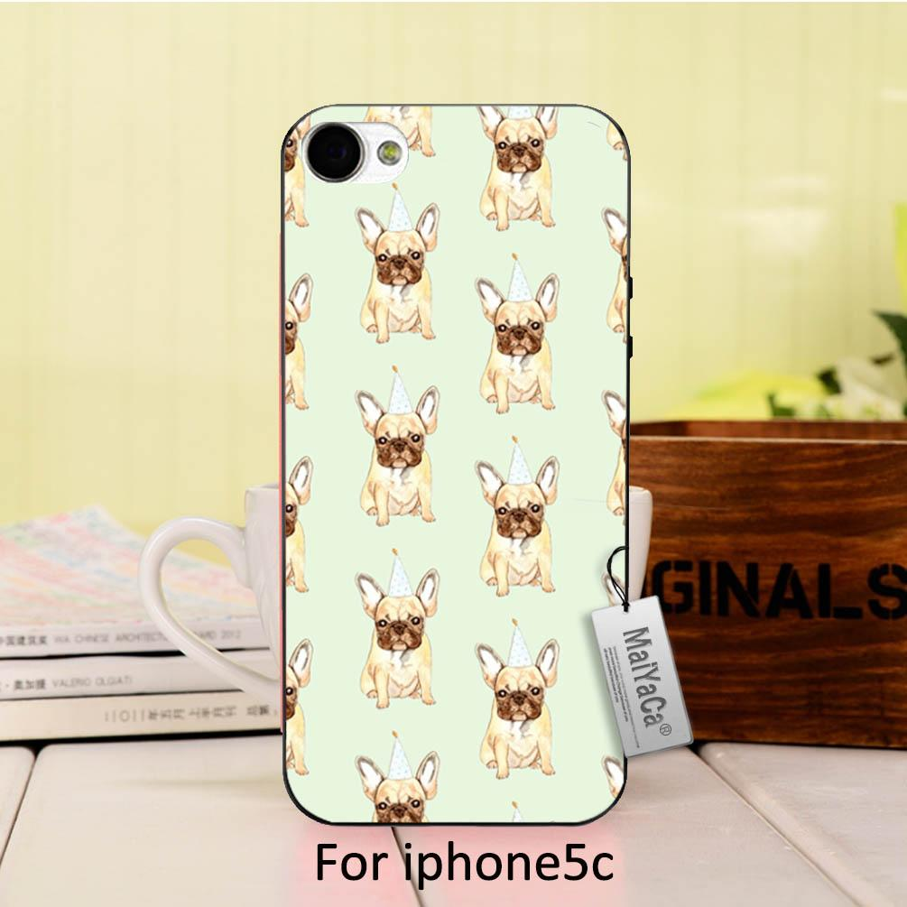 MaiYaCa Cute Pug Dog birthday On Sale Luxury Cool phone Accessories Case For iPhone 5c case