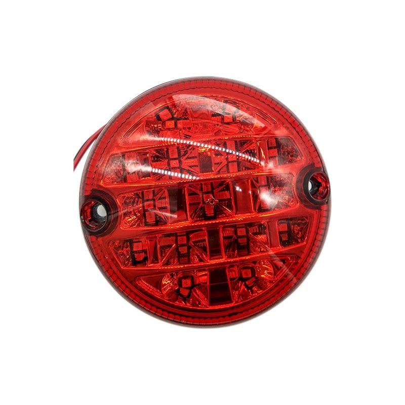 WildAuto LED Rear Turn Light,Stop Light,Tail Light,6 Inch For Truck,Trailer,Lorry,Van Caravan,12V//24V-1 Pcs