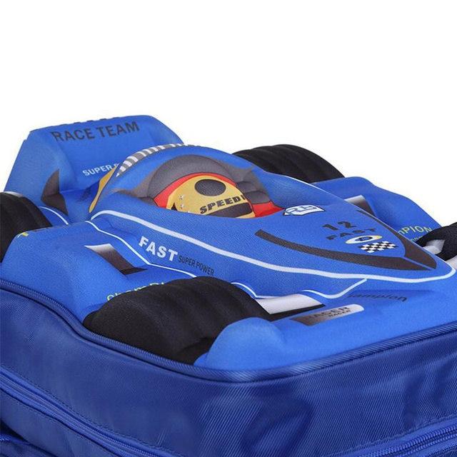 bba568f155 Online Shop For 2018 3D Car School Bag EVA Cool Boy School Bags Kid ...
