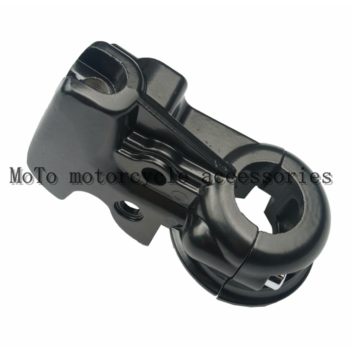 ФОТО Motorcycle Clutch Perch Holder Mirror Base Mount For Haley XL883 1200 14-15