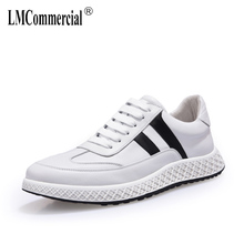 2018 new men's spring autumn summer Genuine leather shoes all-match cowhide casual men shoes breathable sneaker fashion Leisure spring and autumn summer leather men s genuine shoes all match cowhide casual shoes men lazy breathable sneaker fashion leisure