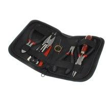1 компл. Jewelry Инструменты с слоев и ножницы Бисер Tool Kit для изготовления ювелирных изделий DIY Инструменты Упаковка beaders черный игла набор инструментов