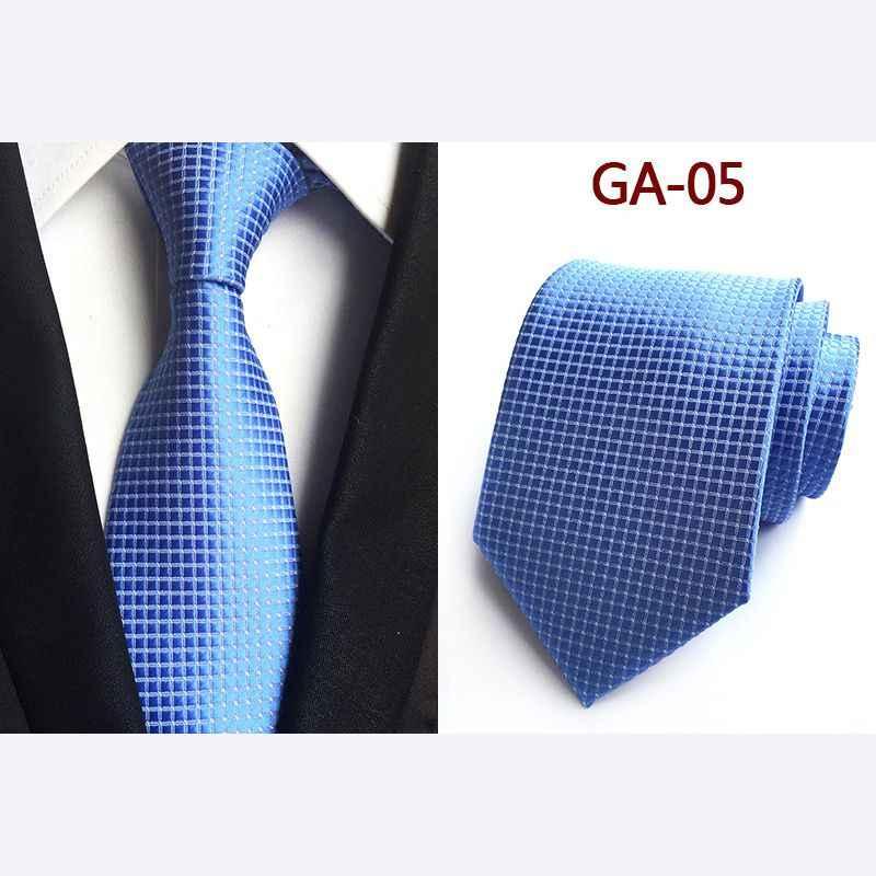Helisopus, 1 шт., мужской свадебный галстук, классический галстук в горошек, деловой галстук в деловом стиле, рождественские подарки, рубашка, мужские платья, аксессуары, 8 см