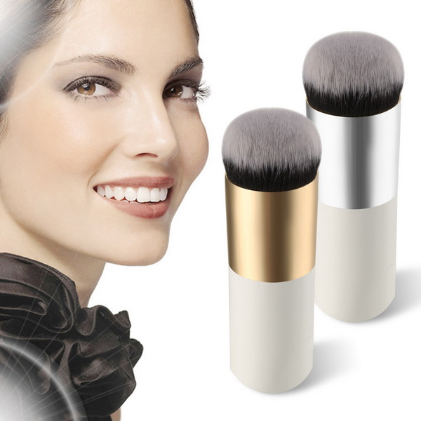 by DHL or EMS 50pcs Explosion models chubby pier foundation brush flat cream makeup brushes Professional Cosmetic Make-up Brush