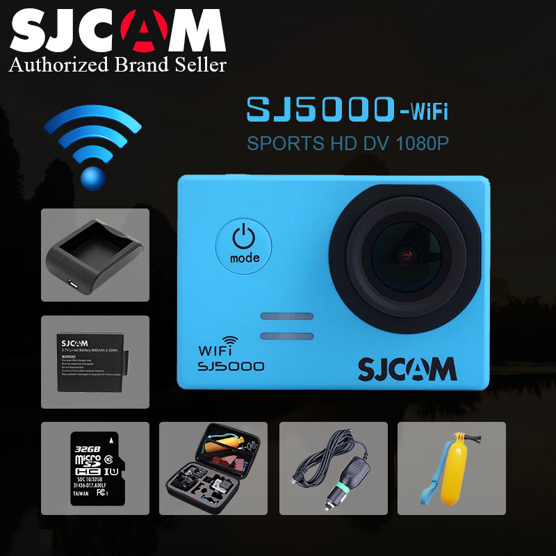 Action camera SJCAM SJ5000 WiFi 1080P camara deportiva Full HD 2.0 170D Helmet Cam underwater go waterproof pro mini Camcorder wimius 20m wifi action camera 4k sport helmet cam full hd 1080p 60fps go waterproof 30m pro gyro stabilization av out fpv camera
