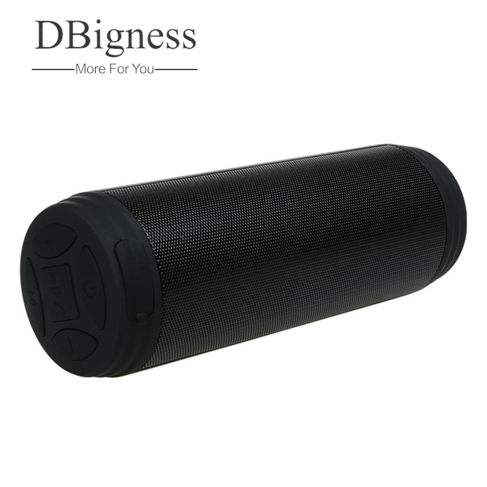 Dbigness Wireless Speaker 10w Super Bass Stereo Bluetooth Speaker TF FM Column Handsfree for Phone PC Home Cinema Caixa de som stereo mobile phone system waterproof for shower 10w bt4 0 super bass hi fi hands bluetooth speaker