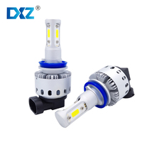 2pcs Bulbs H4 H7 H8 H11 H16JP 9005 9006 9012 5202 Car Headlight COB LED Auto