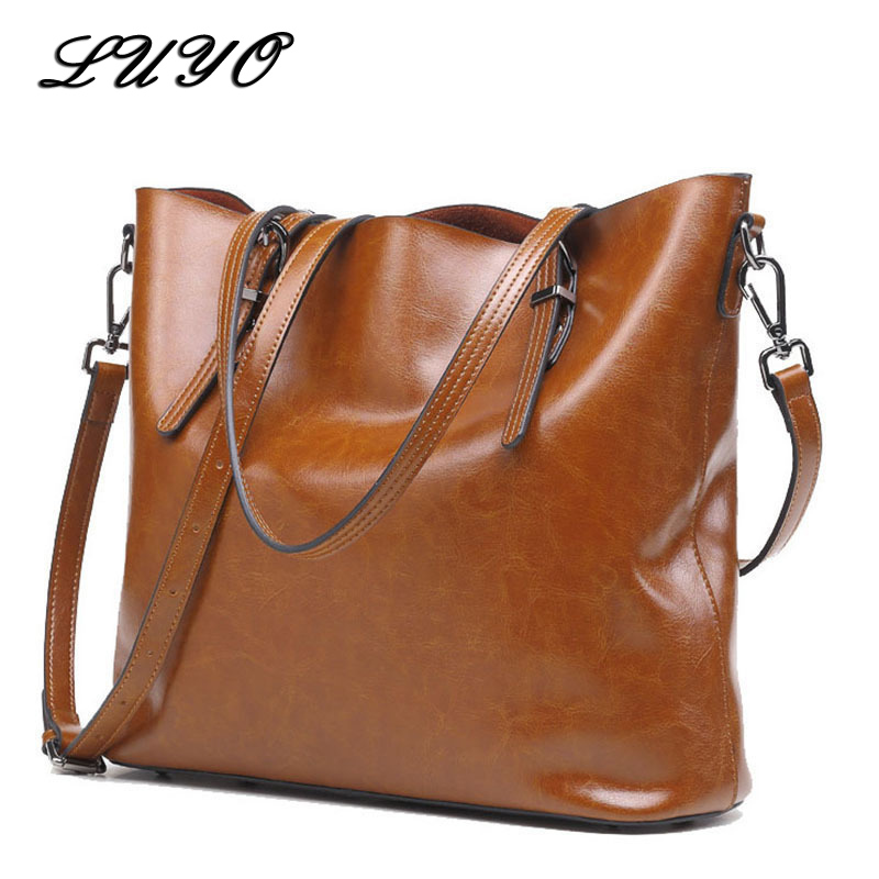 Basket Genuine Leather Bag For Woman 2018 Vintage Messenger Big Totes Luxury Handbags Women Bags Designer Shoulder Famous Brand