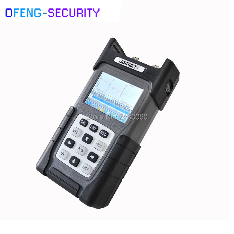 Handheld Optical Fiber Ranger JW3302A OTDR Principle Tester Meter 32/32db Optical Time-domain Reflectometer