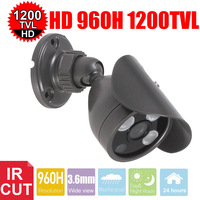Vanxse Cctv 1 3 Sony Cmos Hd 3pcs Array Ir Cut 960h 1200tvl 3 6mm Outdoor
