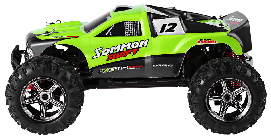 SUBOTECH BG1510B 1 : 24 2.4GHz Full Scale High Speed 4WD Off Road Racer Electric RC Monster Truck  Remote Controll Car top high speed full teeth piston