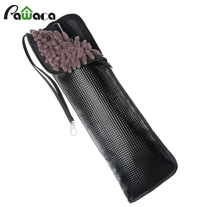 Black Super Absorbent Microfiber Folding Umbrella Case Portable Cleaning Cloth Automatic Umbrella Covers Bag travel Accessories