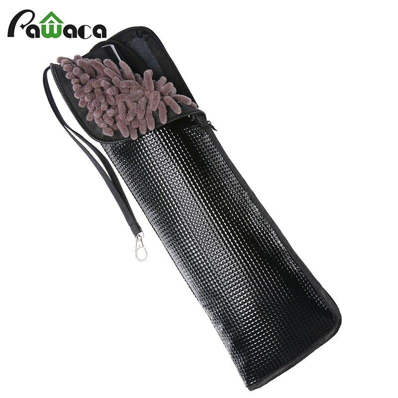 Black Super Absorbent Microfiber Folding Umbrella Case Portable Cleaning Cloth Automatic Umbrella Covers Bag travel Accessories