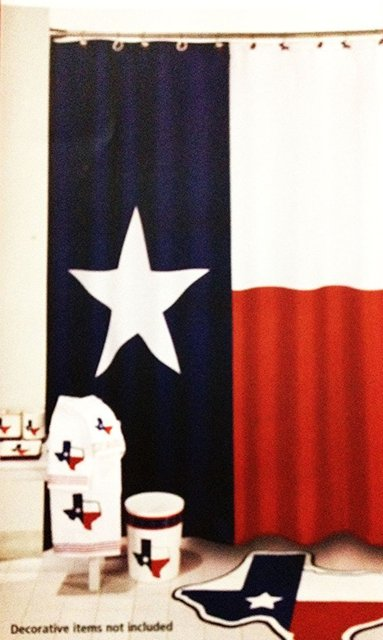 Charmant Memory Home Decration Decor Texas Flag Lone Star Fabric Shower Curtain  Polyester Waterproof Bathroom Product Curtains