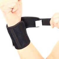 1 Cặp Co Giãn Breathable Mồ Hôi Unisex Bracers Cho Ngoài Trời Thể Thao Bóng Rổ Cầu Lông Cổ Tay Cử Tạ Hỗ Trợ Bảo V