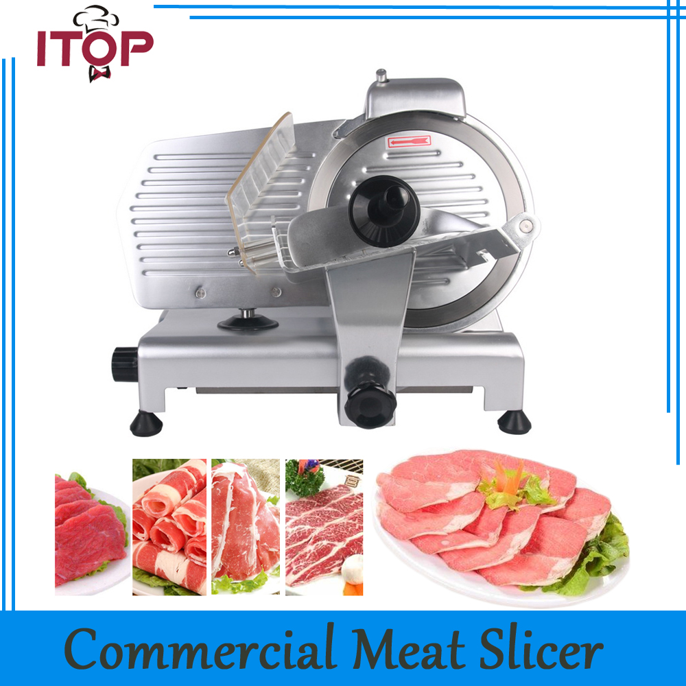 Commercial Meat Slicers Household Electric Meat Cutter Sliceable Pork Frozen Meat Cutter Slicer Cutting Machine 110V manual frozen meat slicer household meat