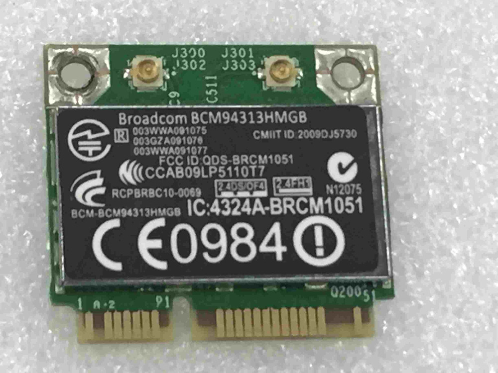 SSEA Wholesale For BroadCom BCM94313HMGB BCM4313 Wifi Bluetooth 4.0 Card For HP TPN-P102 ENVY DV4-5302TX SPS 657325-001
