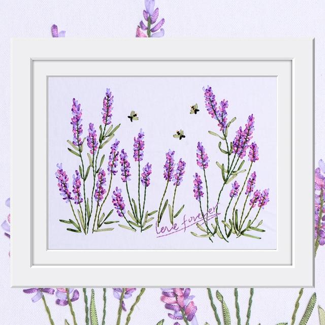 Sketsa Bunga Lukisan Bunga Lavender