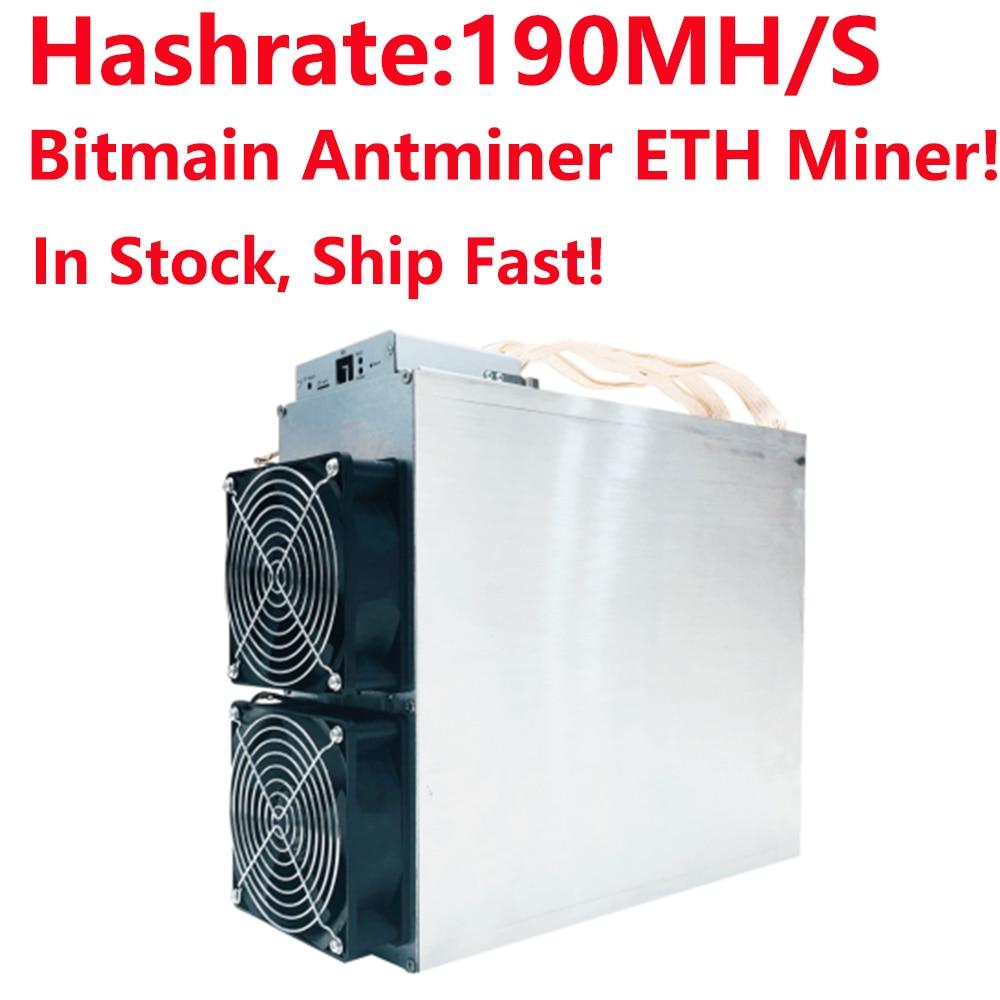 купить ETH Miner,In Stock! Original Bitmain Antminer E3 Ethash Ethereum ETH Mining machine from bitmain power supply not included! недорого