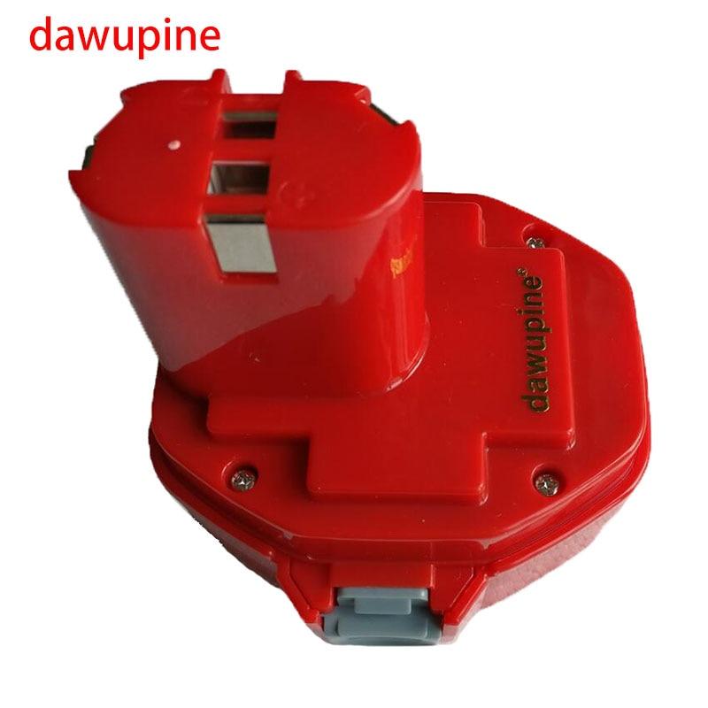 dawupine 14.4V 2000mAh NI-CD NI-MH Battery For Makita 14.4V Cordless Electric Drills PA14 1420 1422 1433 1434 JR140D 192699-A аккумулятор d ansmann r20 10000 mah ni mh бочка 2 шт 5030642