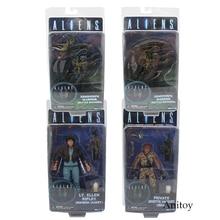 NECA ALIENS série xénophe guerrier privé Jenette Vasquez PVC figurine à collectionner modèle jouet 17 21cm