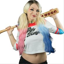 2016 Suicide Squad 5 Styles Harley Quinn Daddy's Lil Monster T-Shirt Harley Quinn Cosplay Costume Women Tee Hight Fashion TopTee
