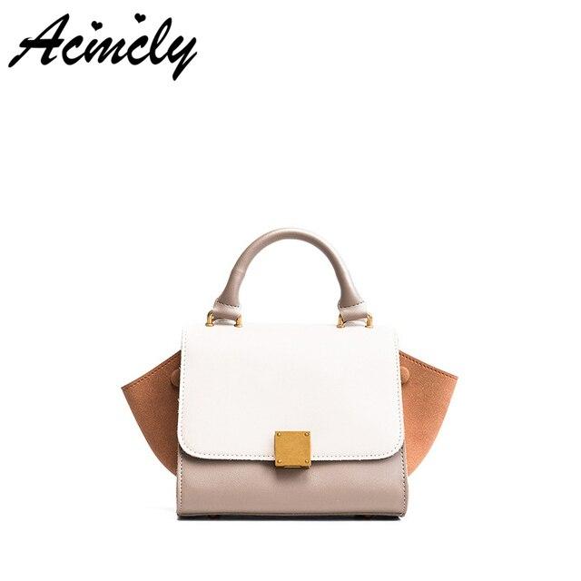 e78095ec9 2018 Luxo Mulheres Messenger Bags PU de Couro Bolsas Femininas Bolsa Alça  Superior Saco Meninas do
