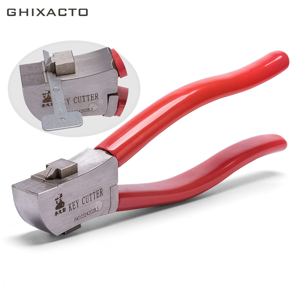 Ghixacto serralheiro lishi chave cortador para chaves em branco ferramenta de corte de serralheiro chave braçadeira de chave automática ferramenta de serralheiro