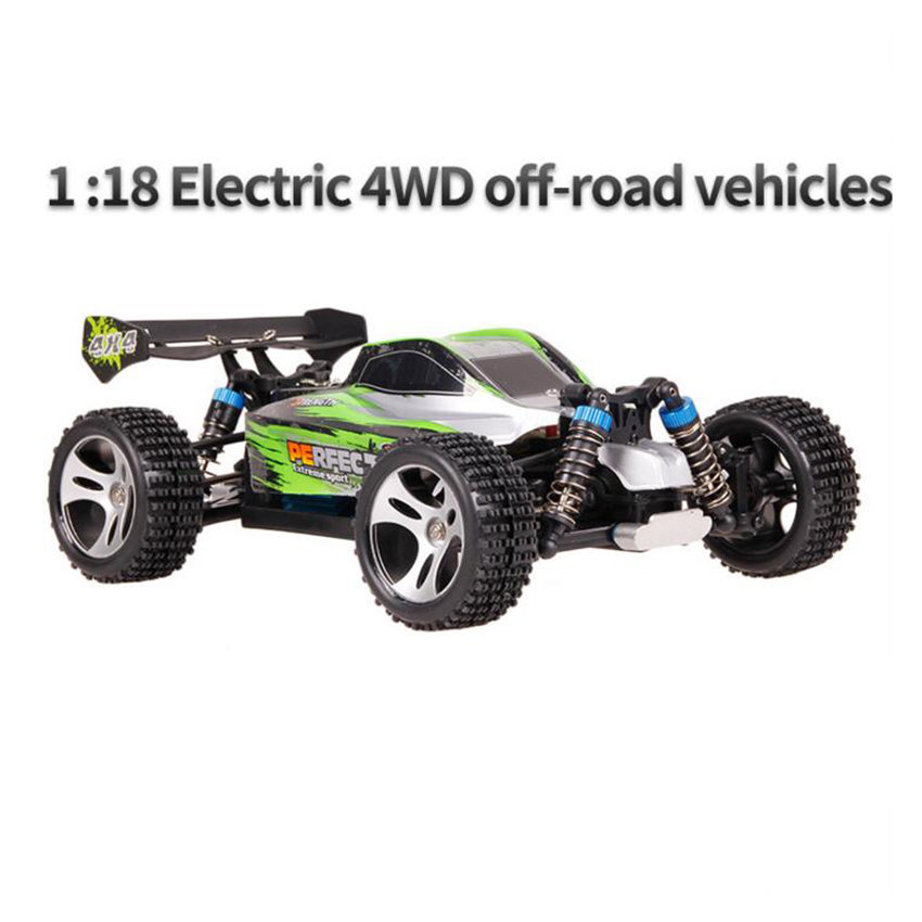 New RC Car 2.4G 20KM/H High Speed Racing Car Climbing Remote Control Car RC Electric Car Off Road Truck 1:18 RC