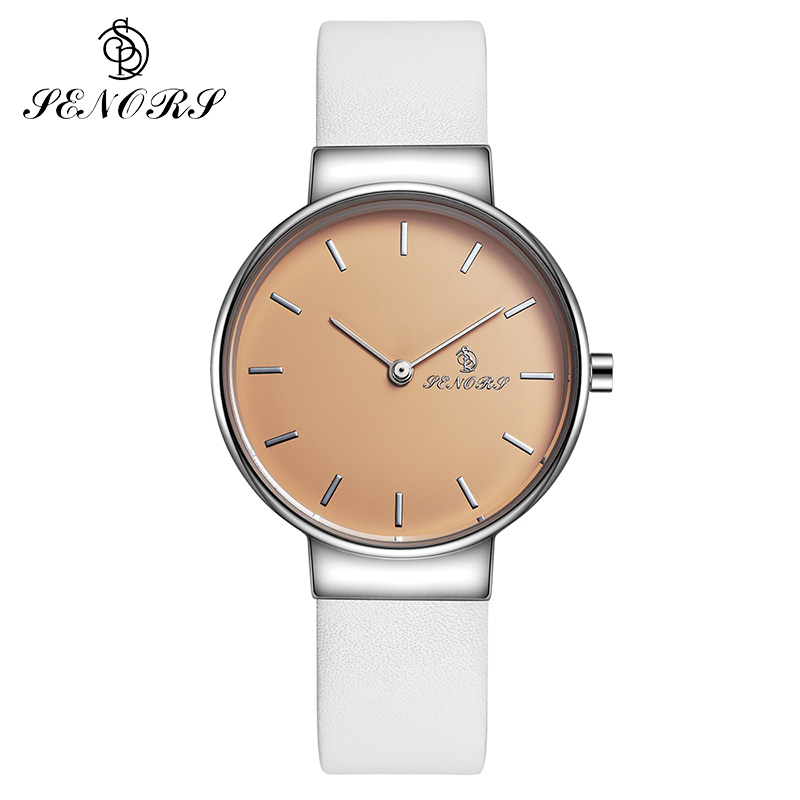 все цены на SENORS Quartz Watch Women Watches Ladies Wristwatch Clock Woman Female Luxury Fashion Montre Femme Relogio Feminino онлайн