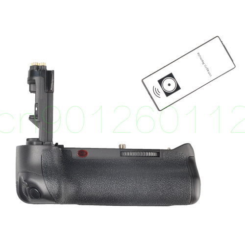 Verticale Batterie support de prise en main BG-E16H Télécommande IR Pour Canon 7D mark II 7D2 7DII pour deux LP-E6 batterie ou six piles AA
