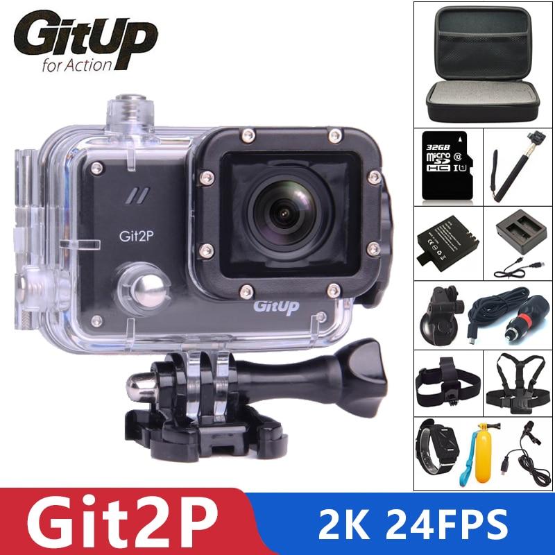 Original Gitup Git2p Sport Action Kamera 2 K Wifi Volle Hd 1080 P 30 M Wasserdichte Camcorder 1,5 Zoll Novatek 96660 Git2 P Pro Cam Sport & Action-videokamera Sport & Action-videokameras