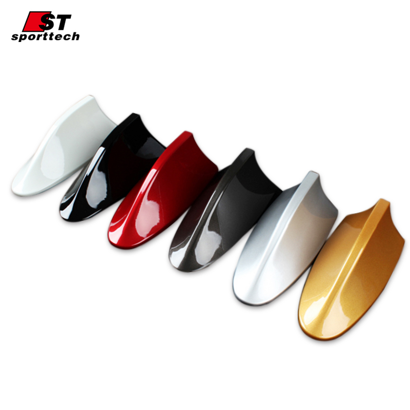 Car Styling Car Antenna Antena FM Antenna Covers For Nissan Antenne Voiture Shark Fin Roof Radio Aerial For Nissan Qashqai 2018 frp fiber glass car styling hood bonnet lip chin valance fin add on tuning parts for nissan skyline r32 gtr gts