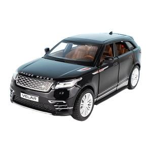 Image 4 - 1:32 Schaal Licensed Collection Car Model Voor Range Rover Velar Diecast Legering Metalen Luxe Suv Off Road Sound & licht Speelgoed Voertuig