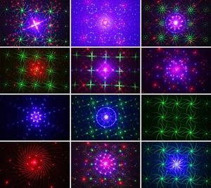 Image 4 - エイリアン新 96 パターン RGB ミニレーザープロジェクター Dj ディスコパーティー音楽レーザー舞台照明効果 Led 青色クリスマスライト