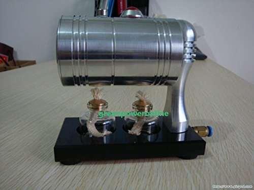 Hot Live Steam Engine Cylinder Unibody Design Boiler Education Toy DIY  Gl-001