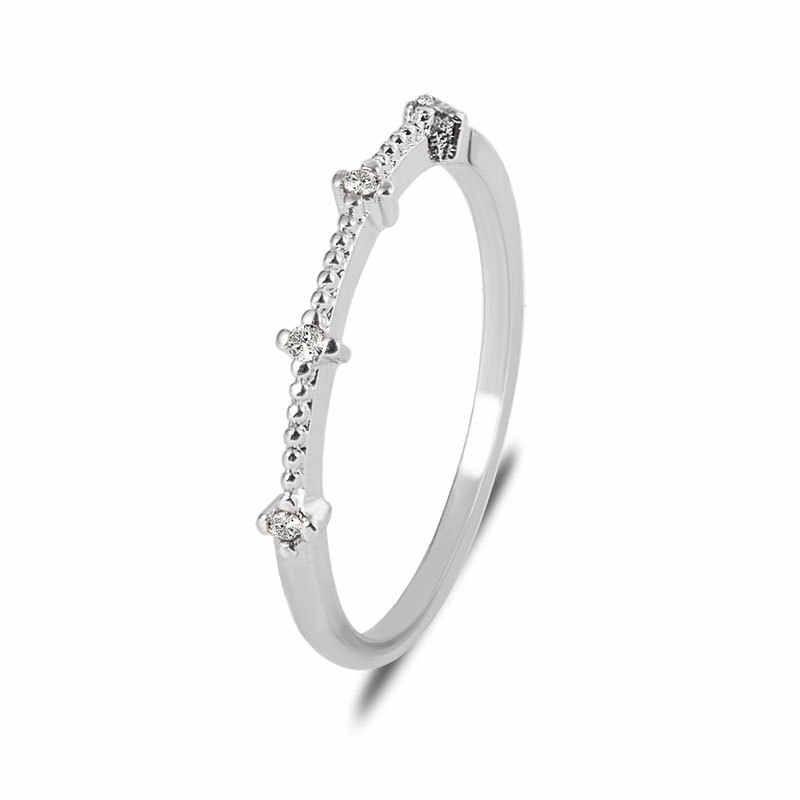 Rosa ouro cor torção clássico zircônia cúbica casamento anel de noivado para mulher meninas cristais austríacos presente anéis bague femme