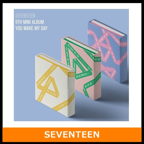 [MYKPOP]~OFFICIAL~ SEVENTEEN YOU MAKE MY DAY MINI 5 Album Set CD+Photo Book+Poster+Mini Book+Small card KPOP Item SA18101601 my abc sticker activity book