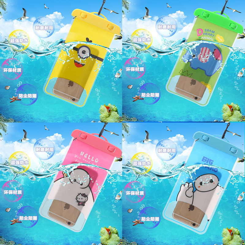 Waterproof Mobile Phone Bags with Strap Dry Pouch Cases For Letv X800 Underwater Water Proof cover