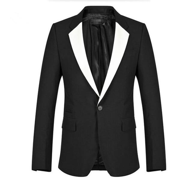 Veste noir homme costume