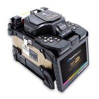 Tumtec FST-83a 500x увеличение core выравнивание FTTx сварочный аппарат оптический Сращивание волокон сварочный аппарат