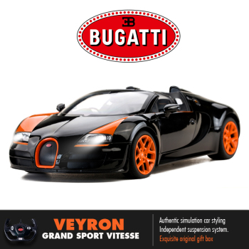 Rastar Bugatti RC Car 1:14 Veyron Grand Sport Vitesse Remote Control Toys For Boys Model Toy Electronic Cars Kids Birthday Gift