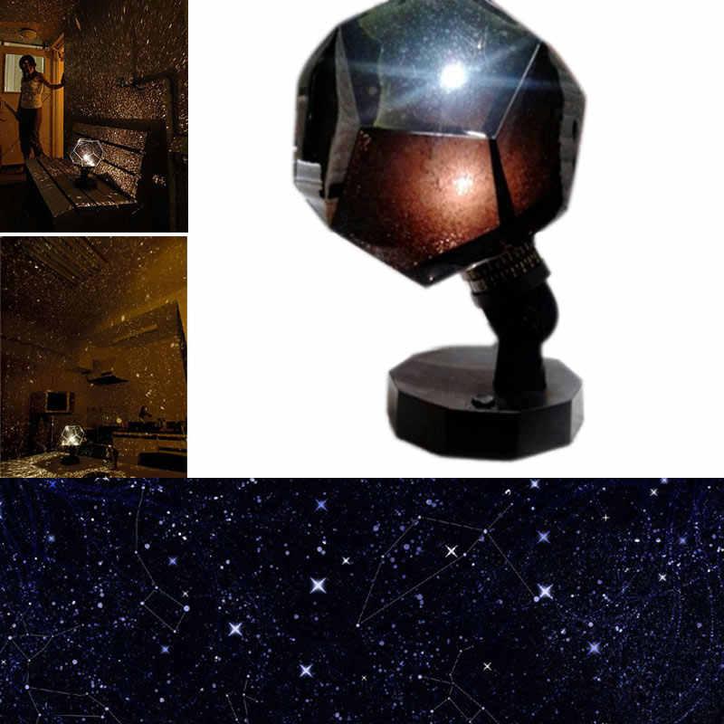 3 цвета романтическая лампа-проектор Звездное Небо звездное небо Проекция Космос свет для спальни дети ребенок подарок MAL999