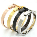 BB004 Belt Bangle  Gold Cuff Bangle  Teddy  Stainless Steel  Jewelry Women Gift Fashion Accessory