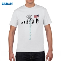 GILDAN DIY Style Mens T Shirts Donald Trump USA Election Funny Humor Anti America Comedy T