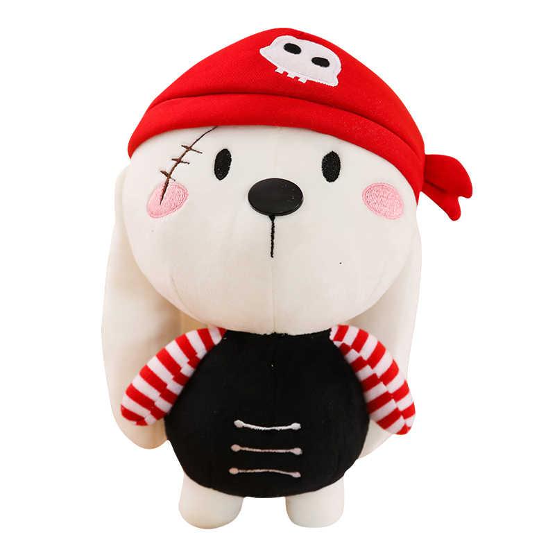 1 шт 25/50/65 см креативный пиратский Кролик Собака Плюшевые Мягкие Плюшевые игрушки Мягкая Подушка для животных Хорошее качество детские игрушки Рождественский подарок