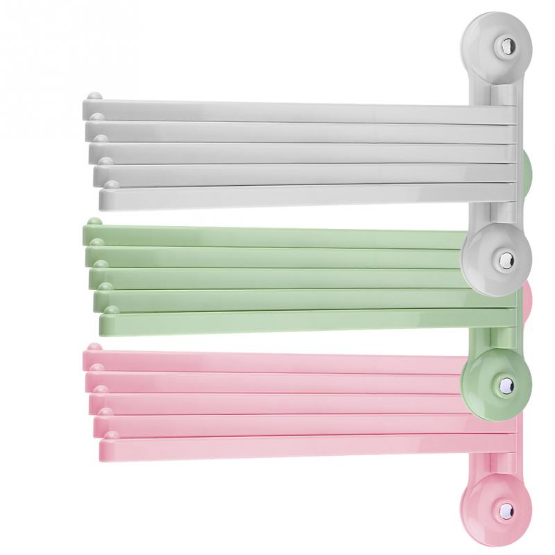 Plastic White Pink Green Pptional Wall Mount Rotating