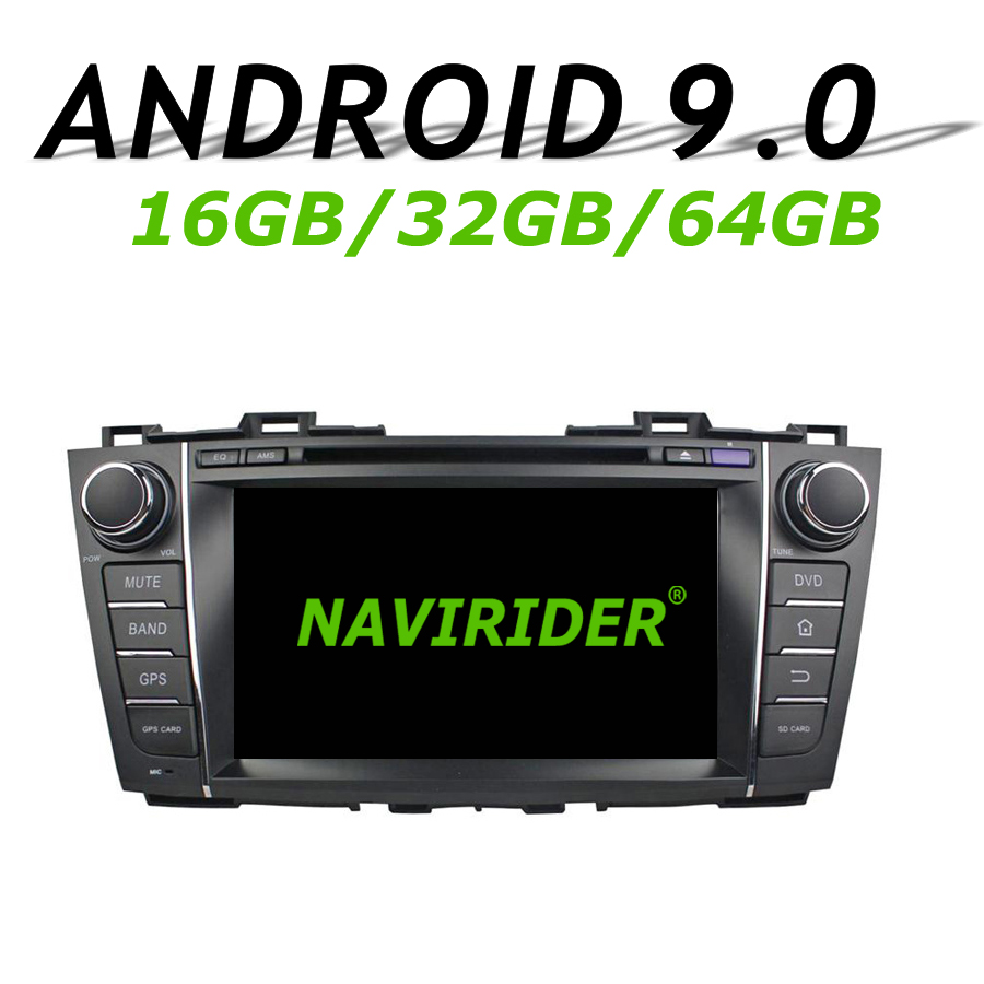 High configuration Octa Core Android 9.0 Car GPS For Mazda 5 Premacy 2009 2010 2012 DVD Car Radio bluetooth 64GB large memory